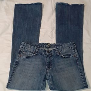 7 For All Mankind Chain A Pocket Boot Cut Jeans 29